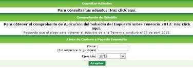 formato para pago de tenencia refrendo ejercicio 2016 pago de tenencia refrendo y placas del distrito federal 2013