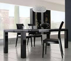 Black Gloss Dining Room Furniture Black High Gloss Dining Table Dm01 Shop For Sale In China