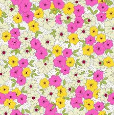 Flower Fabric Design 137 Best Yellow Gold U0026 Pink Design Pattern Combination Images