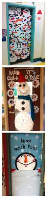 snowman door decorations craftionary