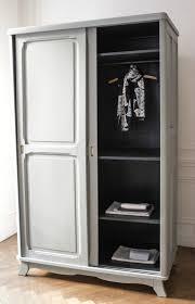 armoire vintage chambre grande armoire type parisienne trendy