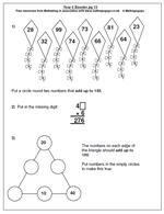 free year 6 maths worksheets maths blog