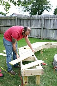Build Your Own Wooden Patio Table by Patio Build Your Own Patio Table And Chairs Make Your Own