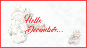 hello december quotes quotes to say hello and welcome december