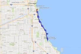 Chicago Marathon Map Get Lucky Chicago Mar 17 2018 World U0027s Marathons