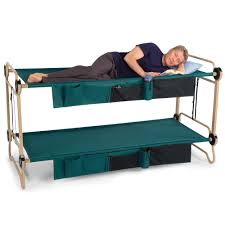 Bunk Bed Pic by The Foldaway Bunk Beds Hammacher Schlemmer