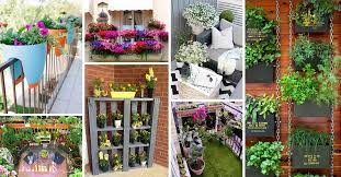 Ideas For Balcony Garden 50 Best Balcony Garden Ideas And Designs For 2018