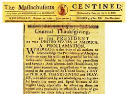 george washington s thanksgiving proclamation