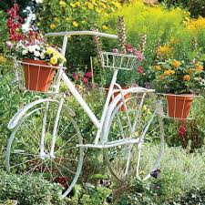 12 bicycles for smart garden decoration top inspirations