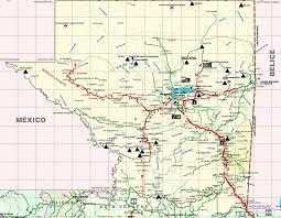 Progreso Mexico Map by