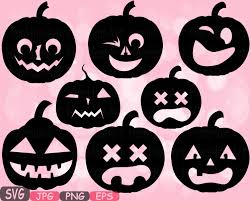 halloween pumpkins trick or treat svg cutting files boo holiday