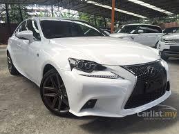 lexus is250 f sport lexus is250 2013 f sport 2 5 in kuala lumpur automatic sedan white