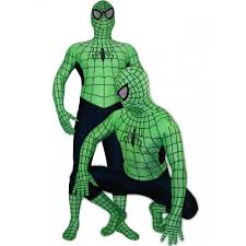 green spiderman halloween costume cosercosplay com