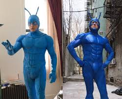 Fantastic Halloween Costumes Comparison Amazon Pilot Series Tick Suit Thetick