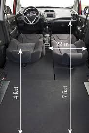 Toyota Prius Interior Dimensions I Just Measured My Honda Fit And Here Are The Interior Dimensions
