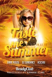 taste the summer flyer template awesomeflyer com