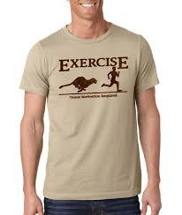 exercise motivation novelty t shirt ebay