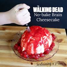 walking dead brain cheesecake meal plan monday week 13