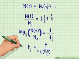 how to calculate half life 6 steps with pictures wikihow