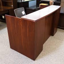 National Waveworks Reception Desk Used Reception Desks Used Office Desks Used Office Furniture