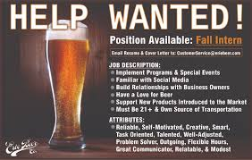 paid erie beer internship in erie pa united states