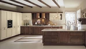 cuisine bois massif pas cher cuisine marbre et bois