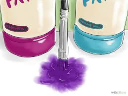 what colors make purple paint make purple paint purple gray learning and craft