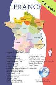 Alsace Lorraine Map Amazon Com French Language Poster Map Of France With