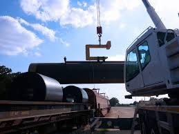 caught in action atf 90g 4 all terrain crane at a railyard tadano