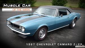1967 camaro z 28 car of the week 39 1967 camaro z 28