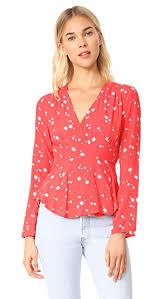blouse pics rolla s dancer wrap blouse shopbop