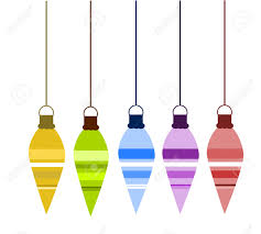 decorative glass ornaments hanging illustration