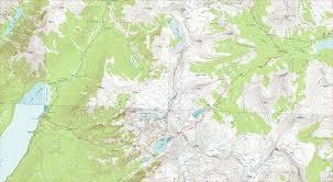 Montana Time Zone Map by Gunsight Pass Trail Glacier National Park Montana