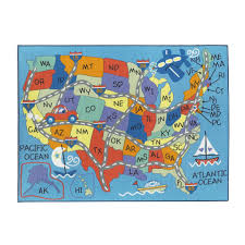 Nd Road Map Kids Road Map Rug Rugs Compare Prices At Nextag