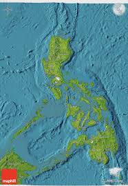 Map Of Phillipines Satellite 3d Map Of Philippines