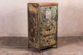 Vintage Metal Storage Cabinet Pine Cupboard 1920s Wooden Cabinet Storage Cupboard