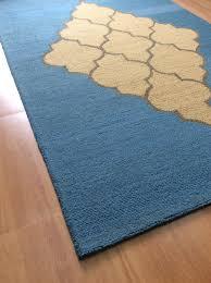 Blue Area Rugs 5x8 by Handmade Wool Modern Blue Brown 5x8 Lt1353 Area Rug