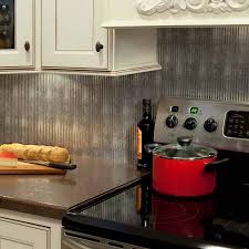 kitchen fasade 24 in x 18 rings pvc decorative backsplash panel