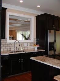 Black Cabinet Kitchens by Typhoon Ice Laminate With Black Cabinet Typhoon Ice Laminate