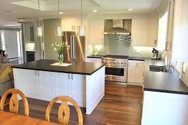 Ceiling Height Cabinets Orange County Espresso Hardwood Floors Kitchen Traditional With