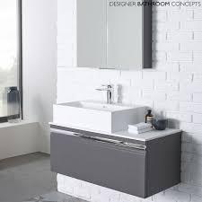 Grey Vanity Unit Cosy High Gloss Bathroom Vanity Units With Additional Interior