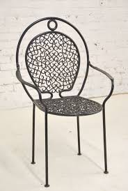 Patio Wrought Iron Furniture by 80 Best Wrought Iron Chair Images On Pinterest Wrought Iron