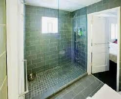 Open Showers No Doors Do You A Doorless Shower Thenest