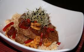 cuisine dietetique recette agneau délicieusement diététique au wok 750g