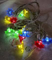 philips string led 15 bulbs multi colored flower lights patio