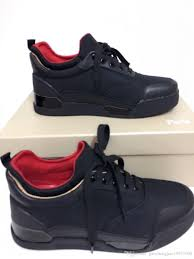 2017 cheap red bottom sneakers for men womens shoes fashion