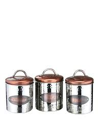 copper kitchen canister sets apollo copper tea coffe and sugar cannisters sugar canister
