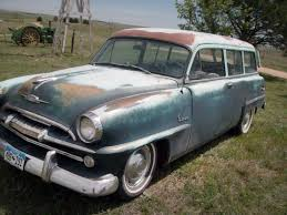 super suburban 1954 plymouth plaza wagon http barnfinds com