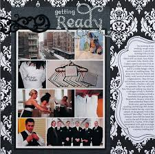 wedding scrapbook ideas scrapbook layout wedding scrapbook time with family almost