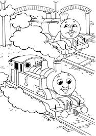large coloring pages thomas train coloring pages ideas
